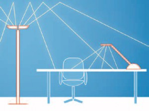 gutes licht bringt gute leistung gesund im b ro. Black Bedroom Furniture Sets. Home Design Ideas